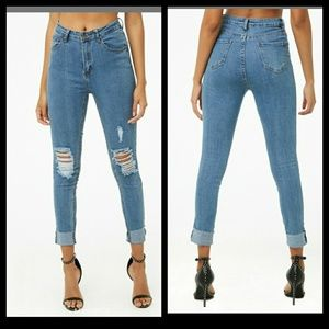 American baxi jeans from forever 21!!